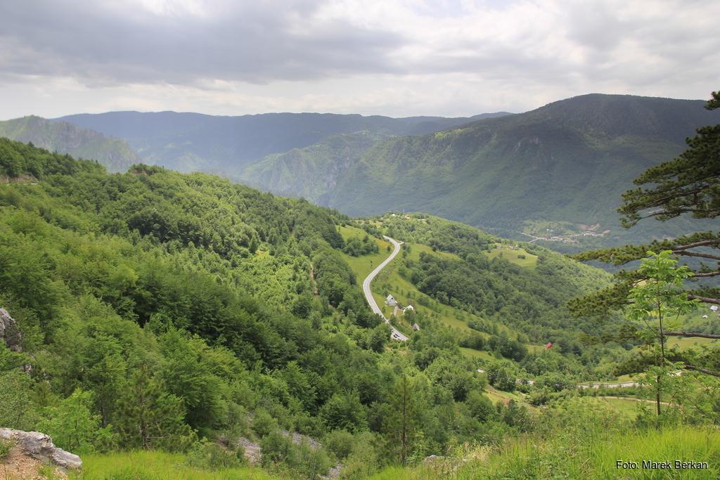 Czarnogóra - dolina rzeki Tara