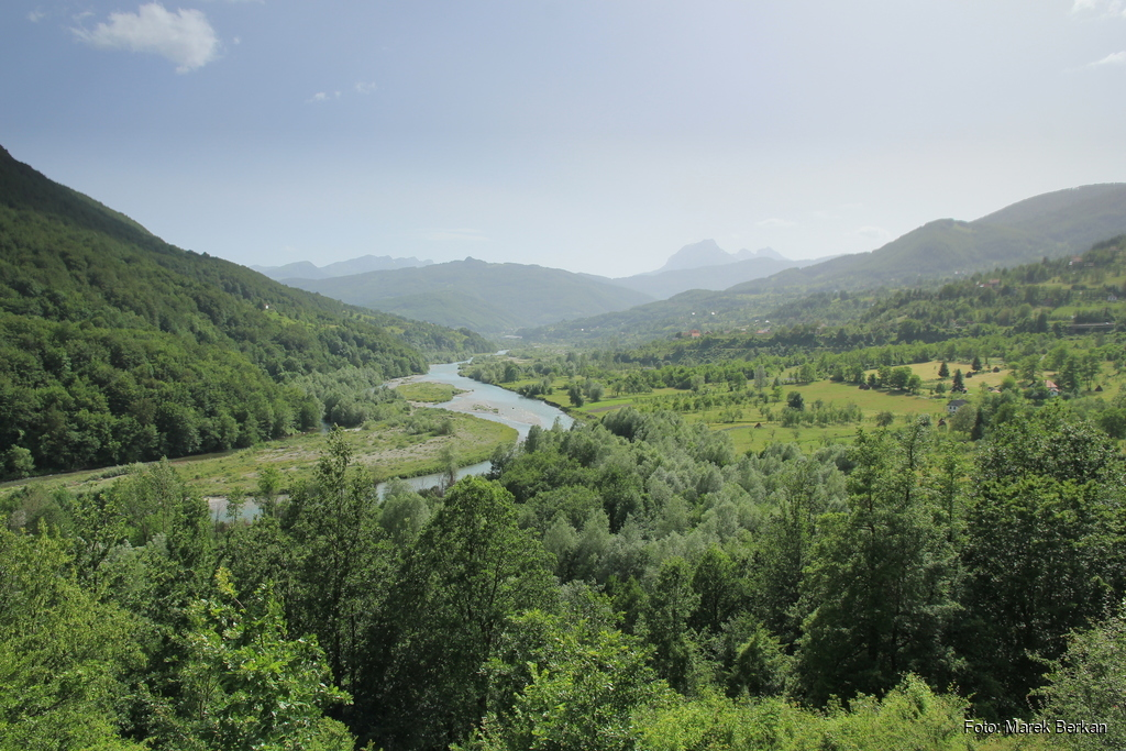 Czarnogóra - rzeka Tara