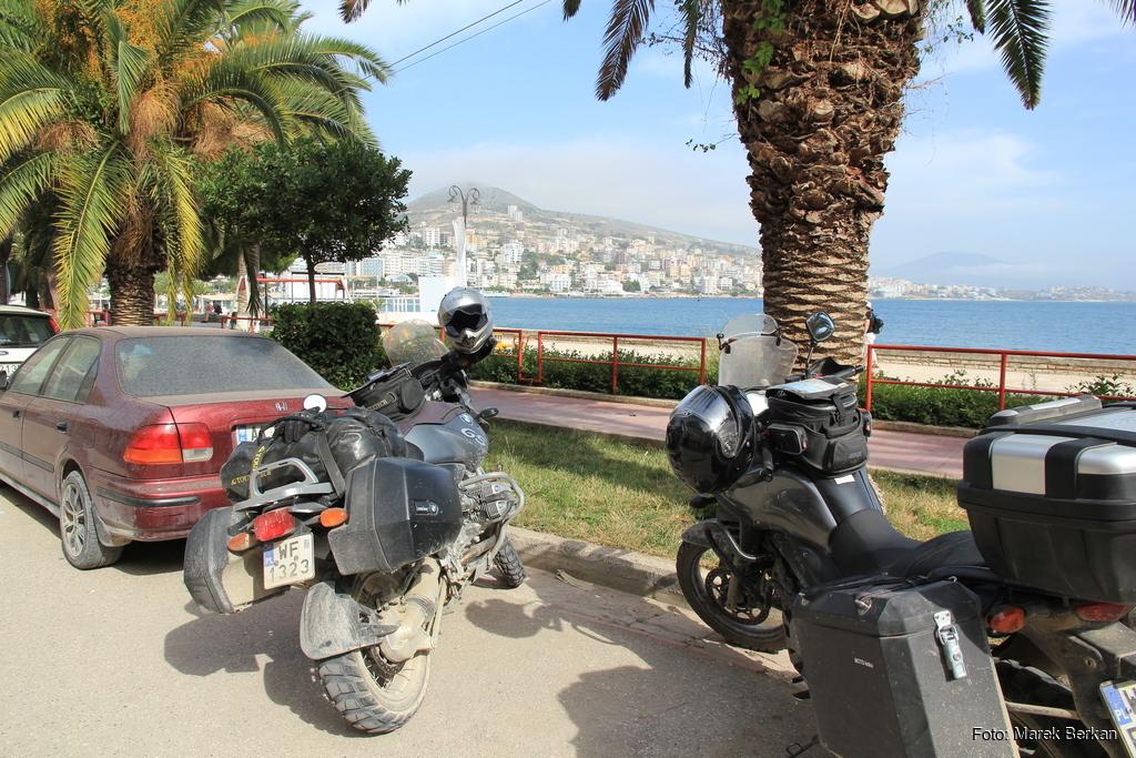 Saranda - widok na Morze Jońskie