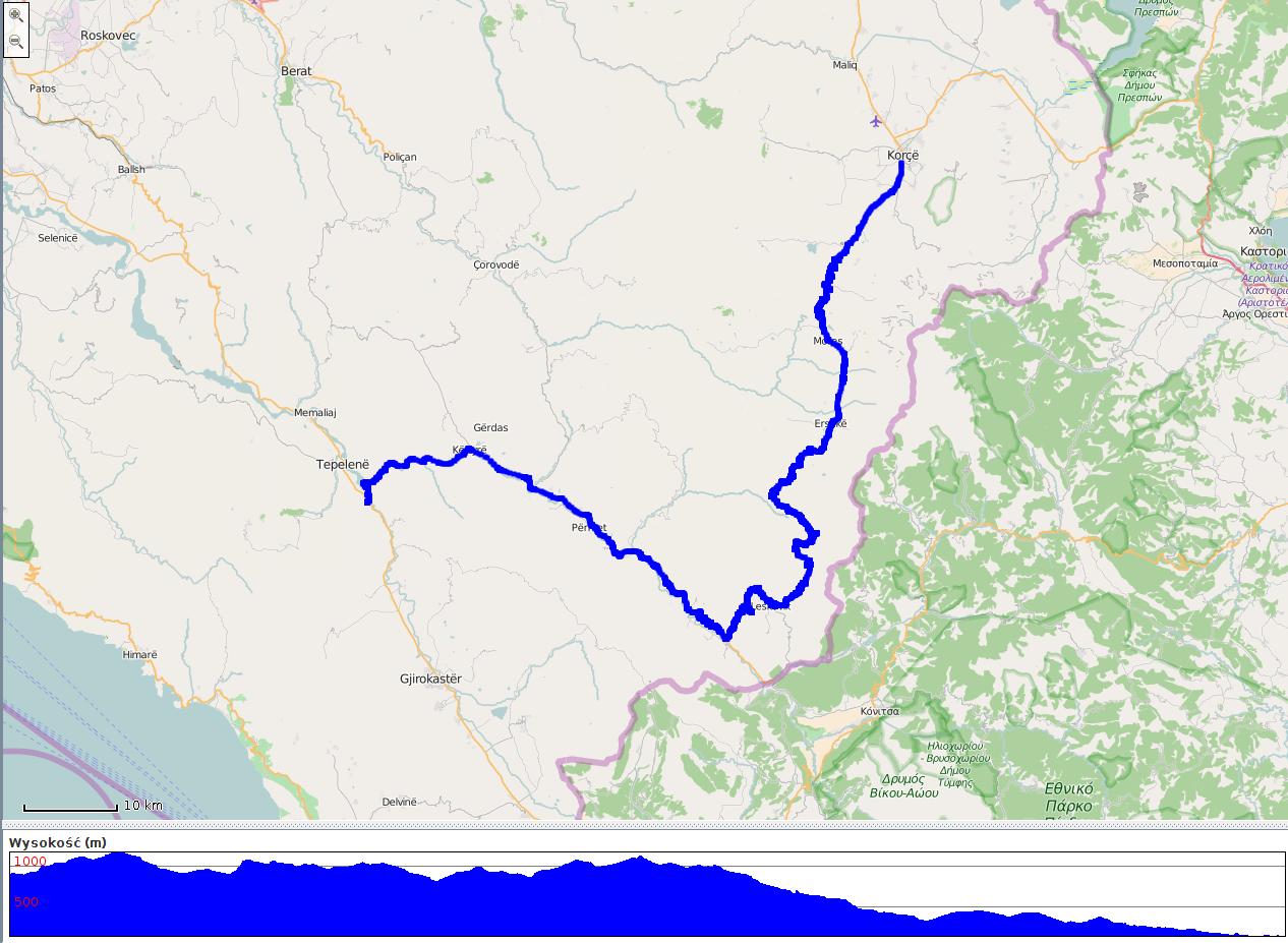 SH75 - mapa