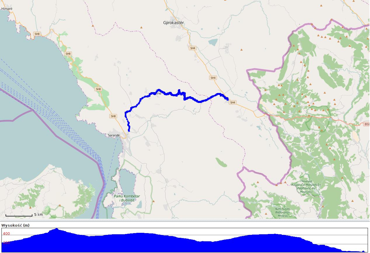 SH78 - mapa