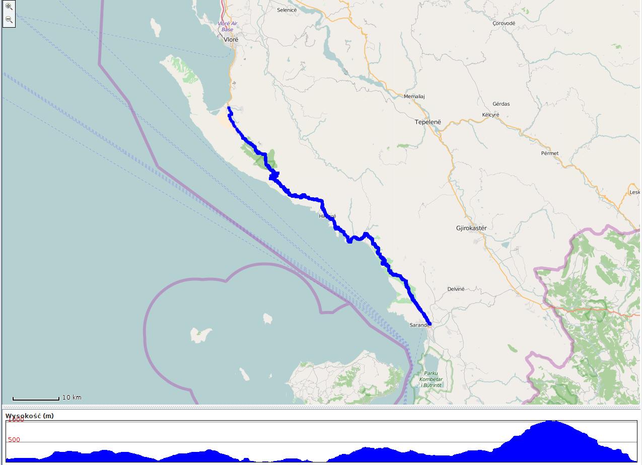 SH8 - mapa