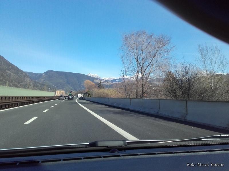 W drodze powrotnej przez przełęcz Brenner