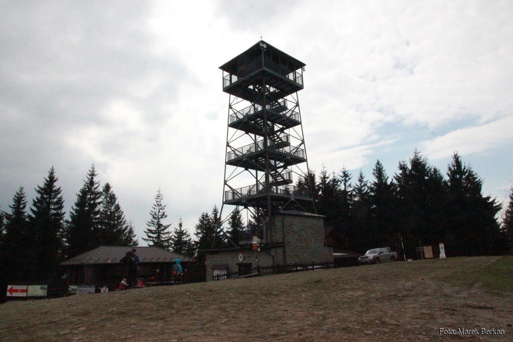 Wieża widokowa na Czantorii Wielkiej