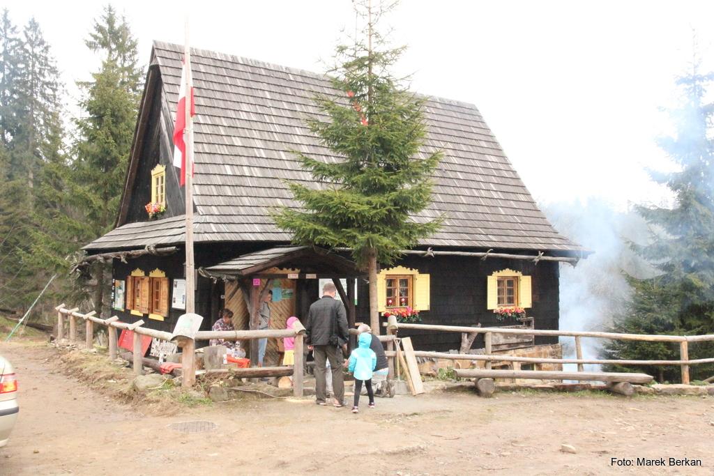 Muzeum turystyki przy schronisku na Polanie Przysłop