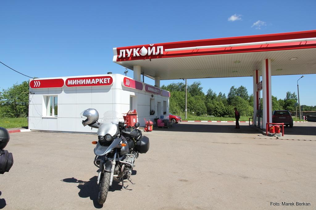 Stacja paliw sieci Łukoil