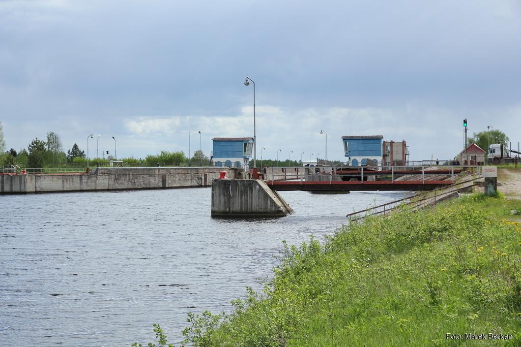 Powiniec: śluza na kanale Białomorsko-Bałtyckim