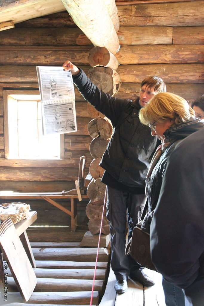 Skansen Kiży: przewodnik pokazuje jak żyli tu ludzie
