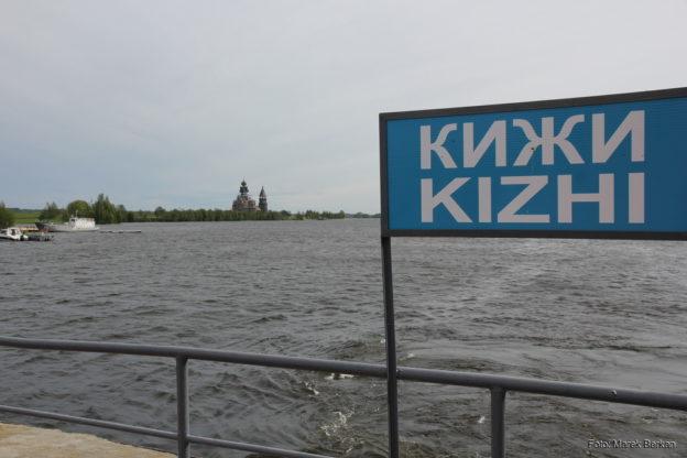 Skansen na wyspie Kiży