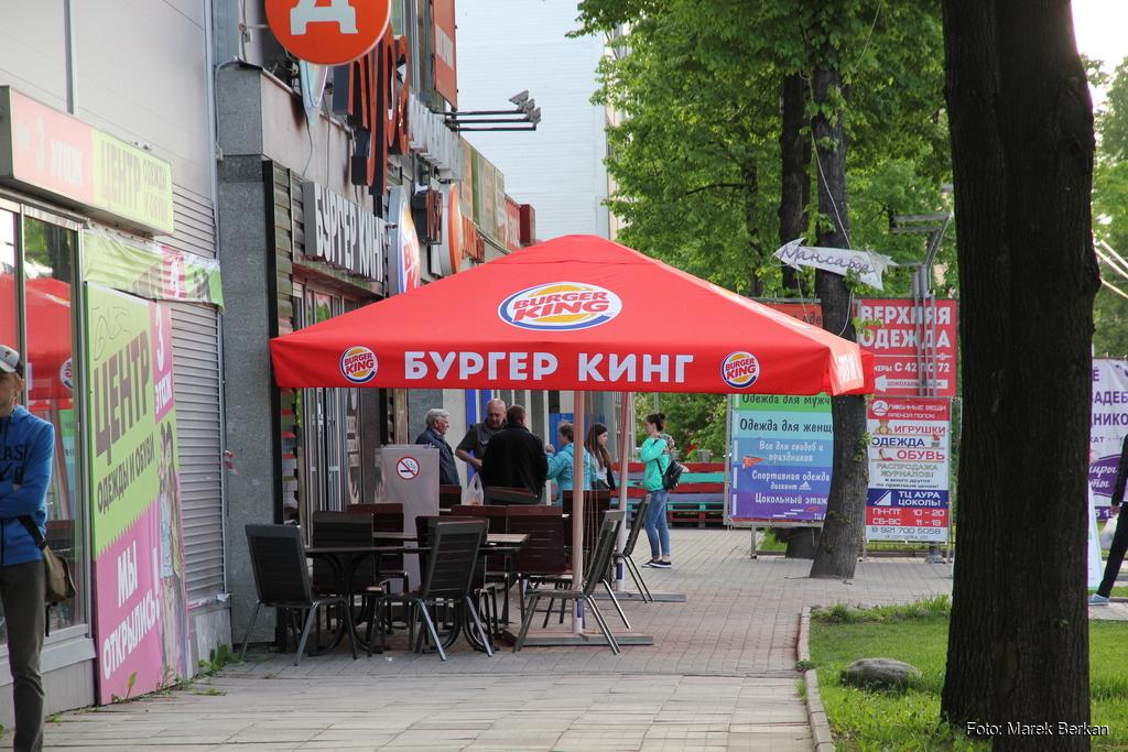Petrozawodsk - bar popularnej sieciówki