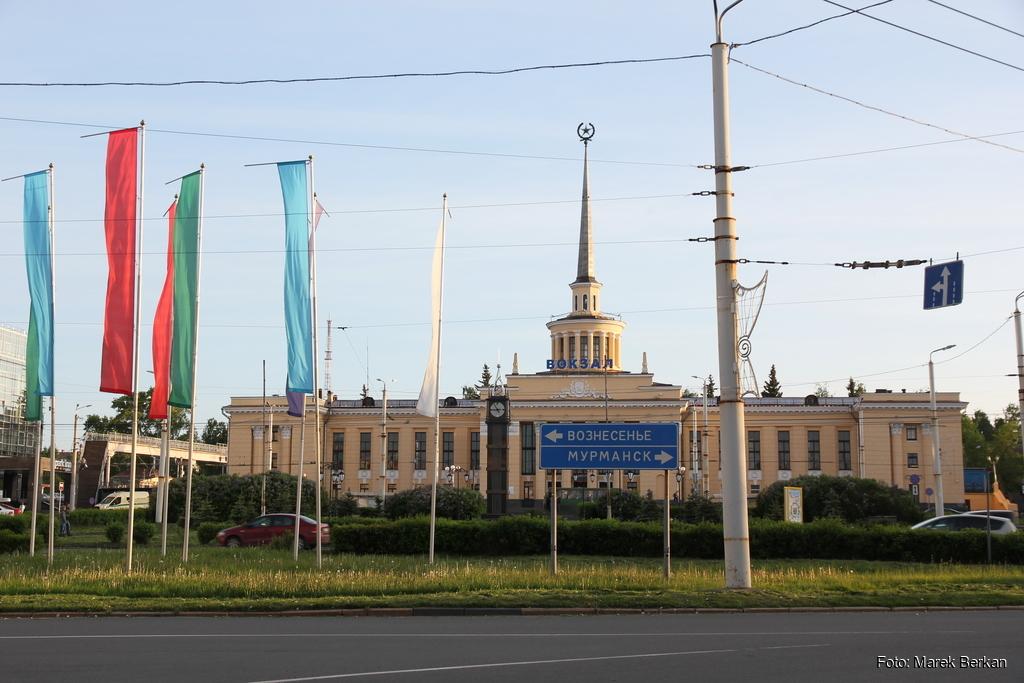 Petrozawodsk - dworzec kolejowy
