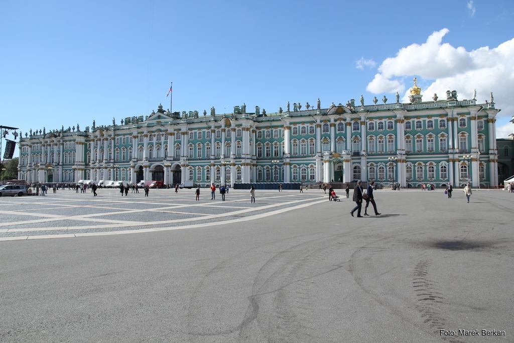 Petersburg: Pałac Zimowy
