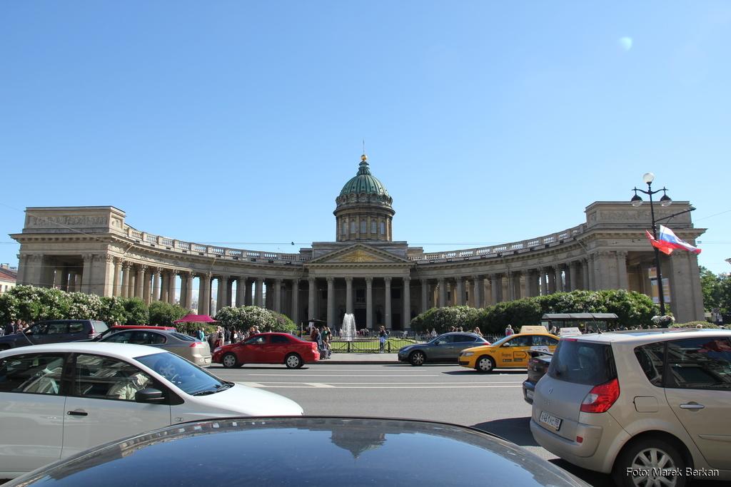 Petersburg: Sobór Kazański