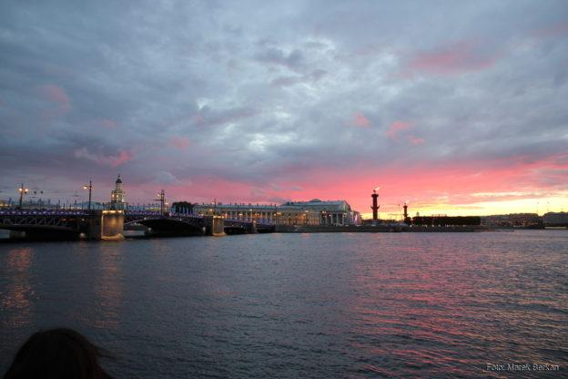 Petersburg: rzeka Newa