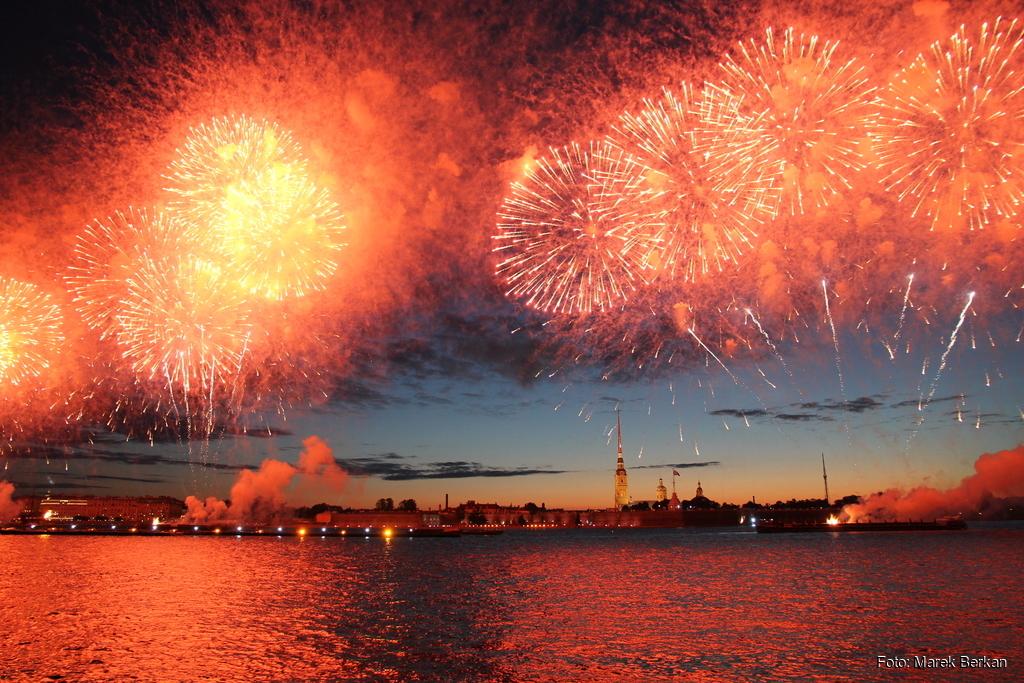 "Petersburg: pokaz ""Scarlet Sails"""