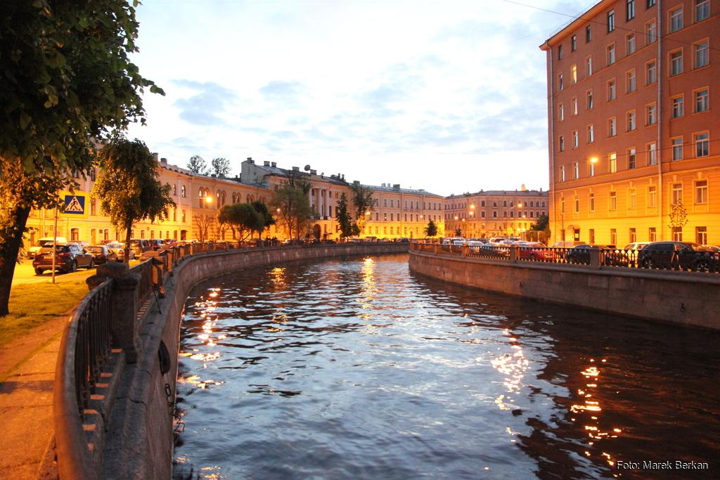 Petersburg: kanał