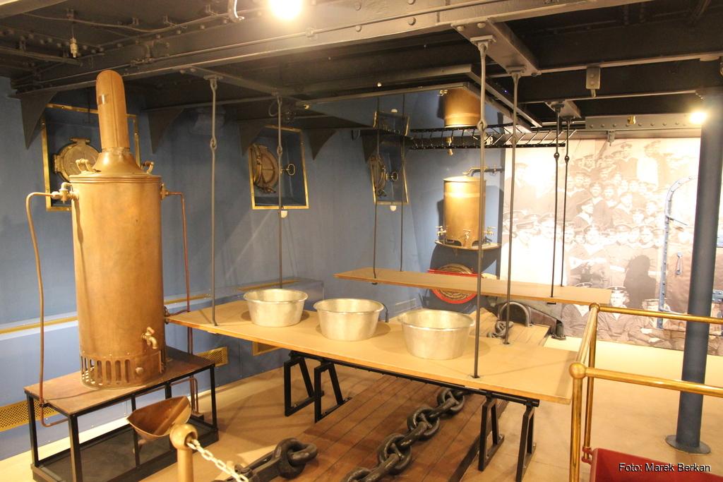 Krążownik Aurora: wnętrze muzeum
