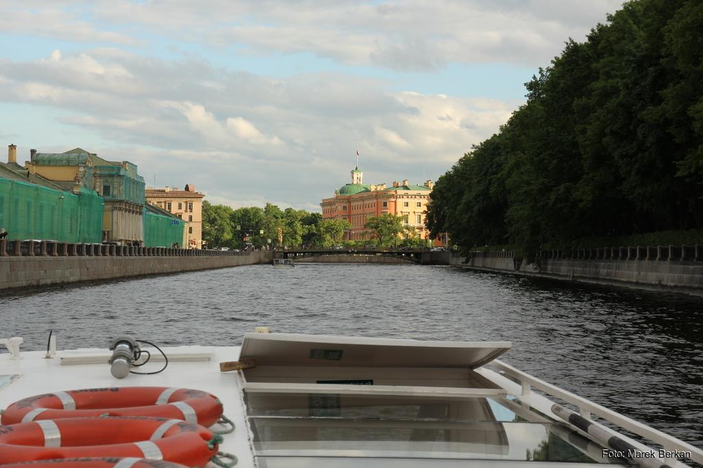 Petersburg: rejs po kanałach