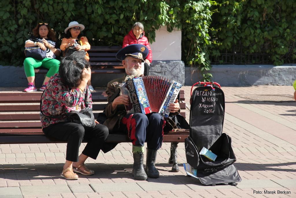 Moskwa: ulica Arbat