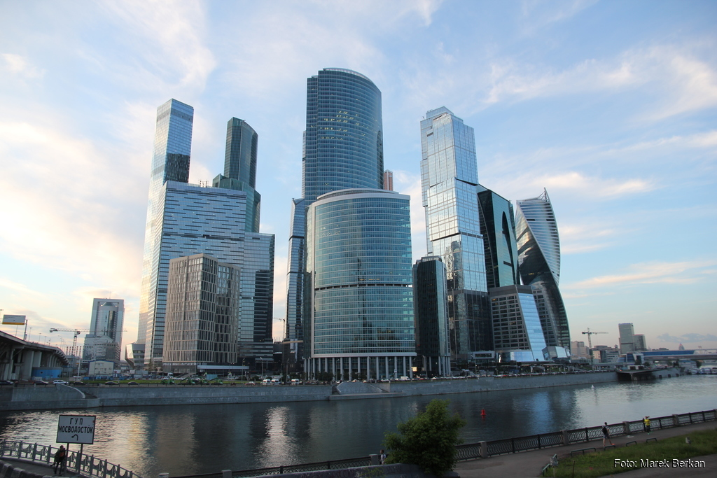 Moskwa: centrum biznesowe