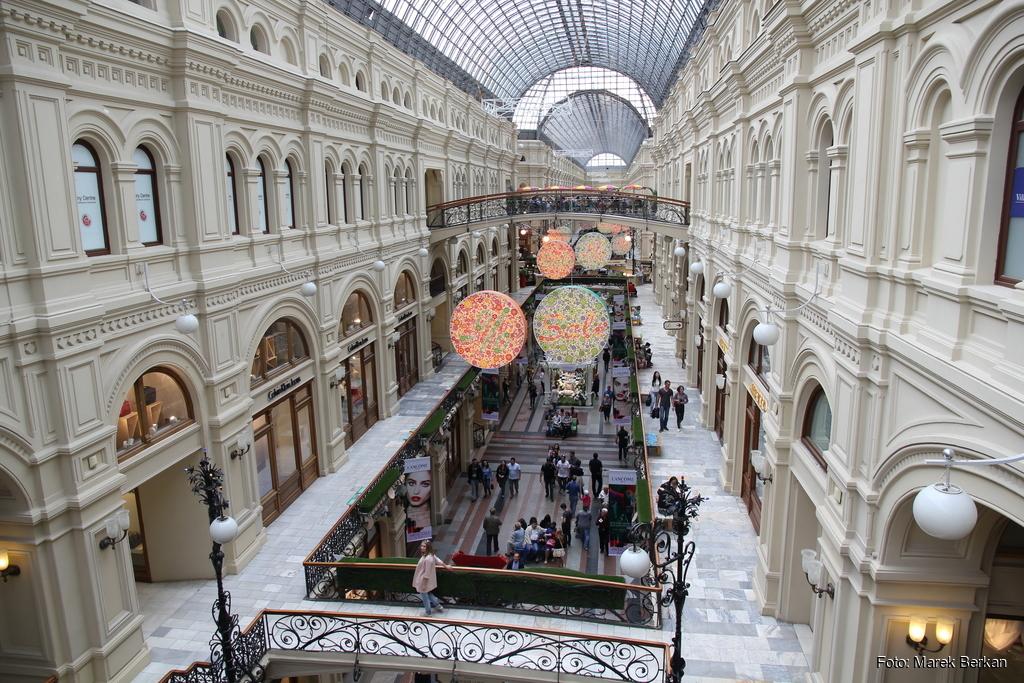 Moskwa: Główny Dom Towarowy