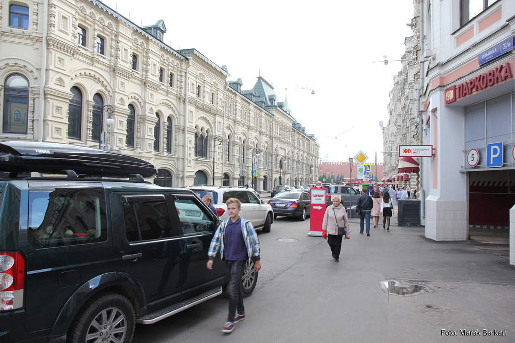 Moskwa: luksusowe samochody