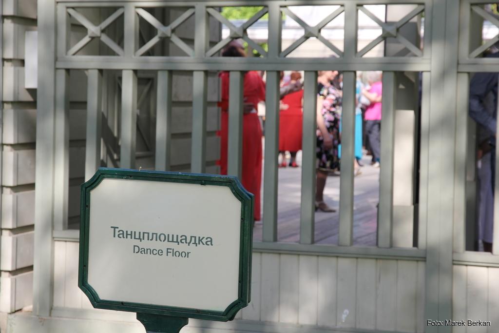 Moskwa: potańcówka w parku