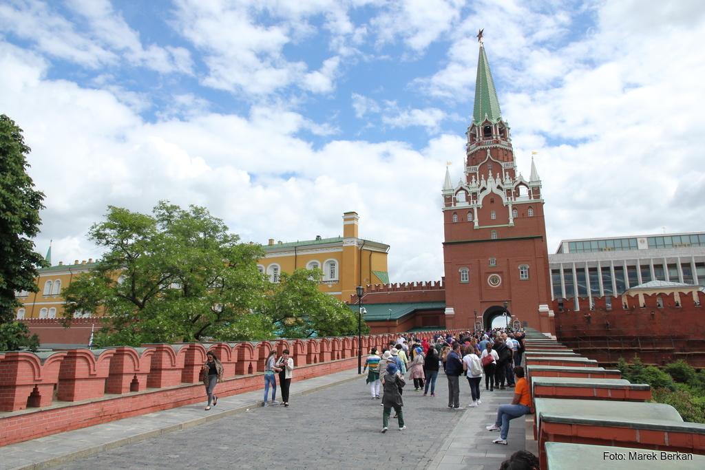 Moskwa: wejście na Kreml