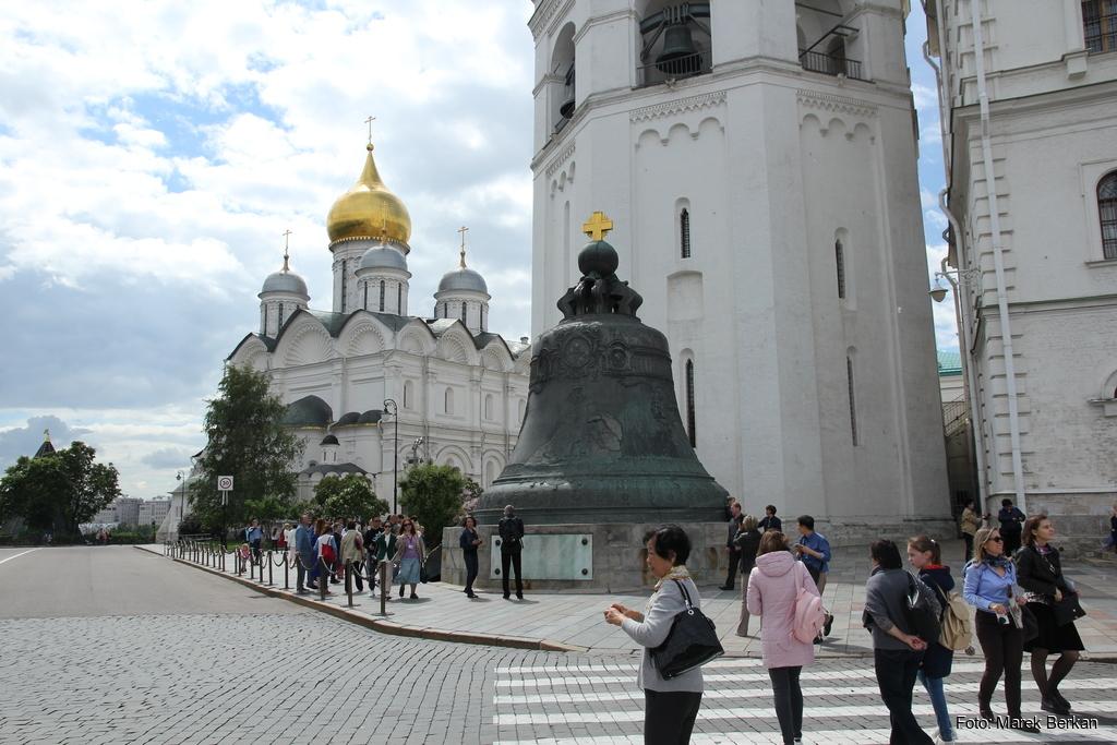 Moskwa: dzwon na Kremlu