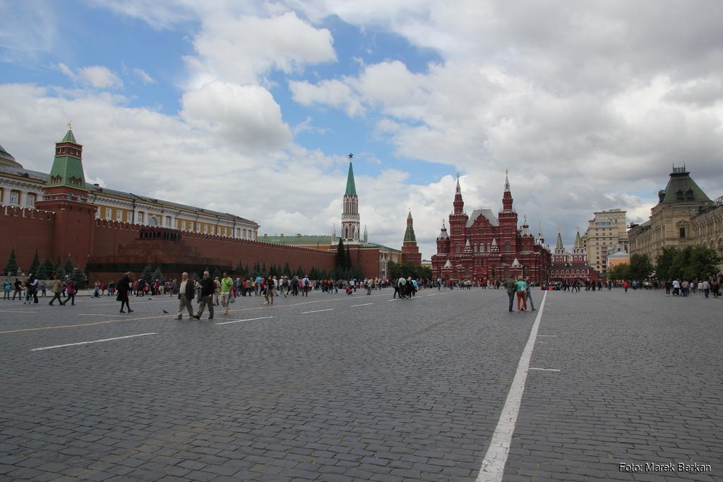Moskwa: Plac Czerwony (Rewolucji)