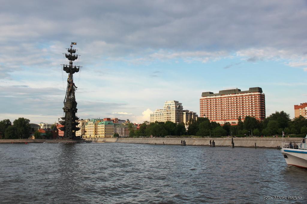 Moskwa: Pomnik Piotra I