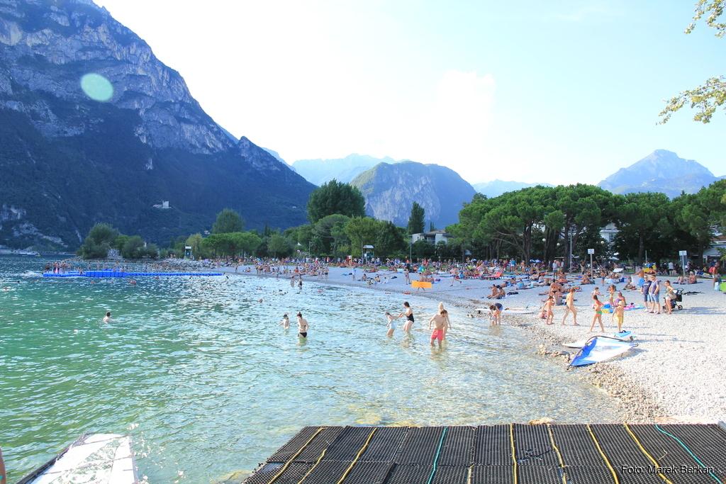 Riva del Garda - plaża