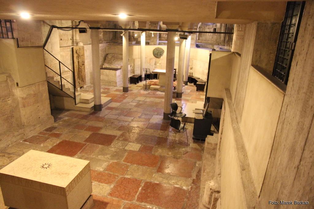 Trydent - podziemia katedry