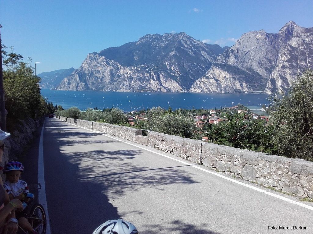 Trasa rowerowa Torbole - Mori
