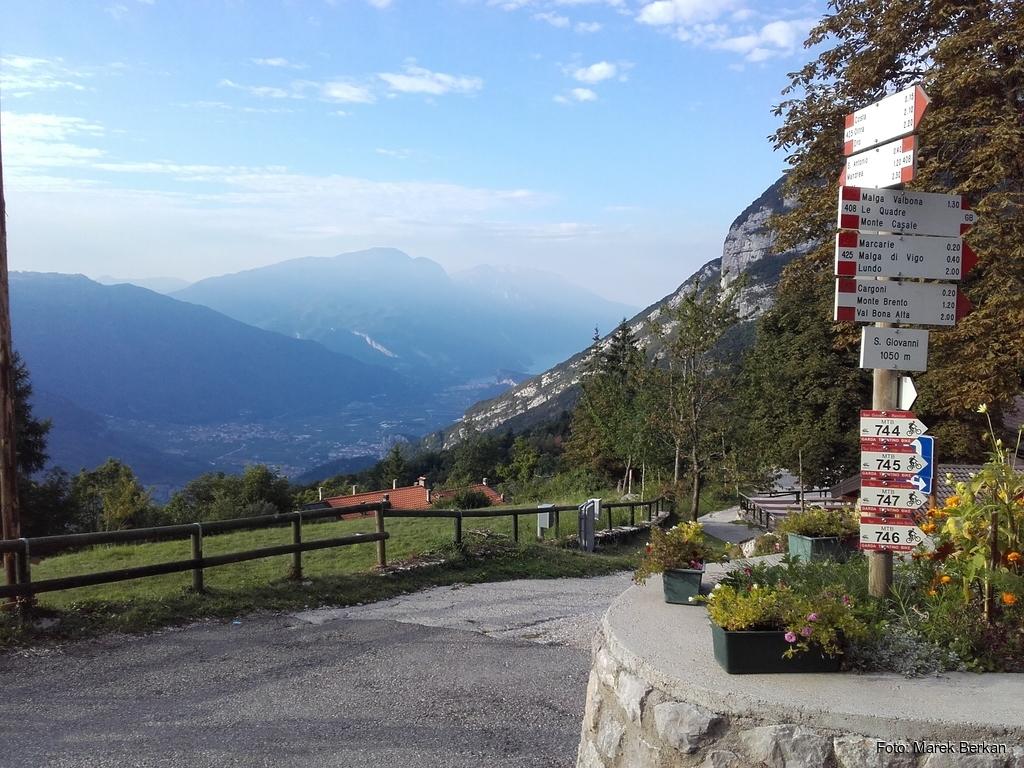 Trasa rowerowa Arco - przełęcz St Giovanni