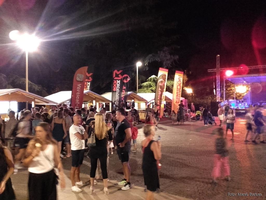 Arco - Rock Climbing Festival, impreza na starówce