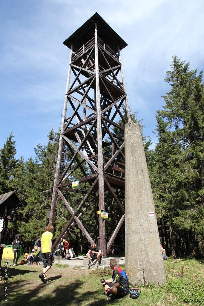 Radziejowa - nieczynna wieża widokowa