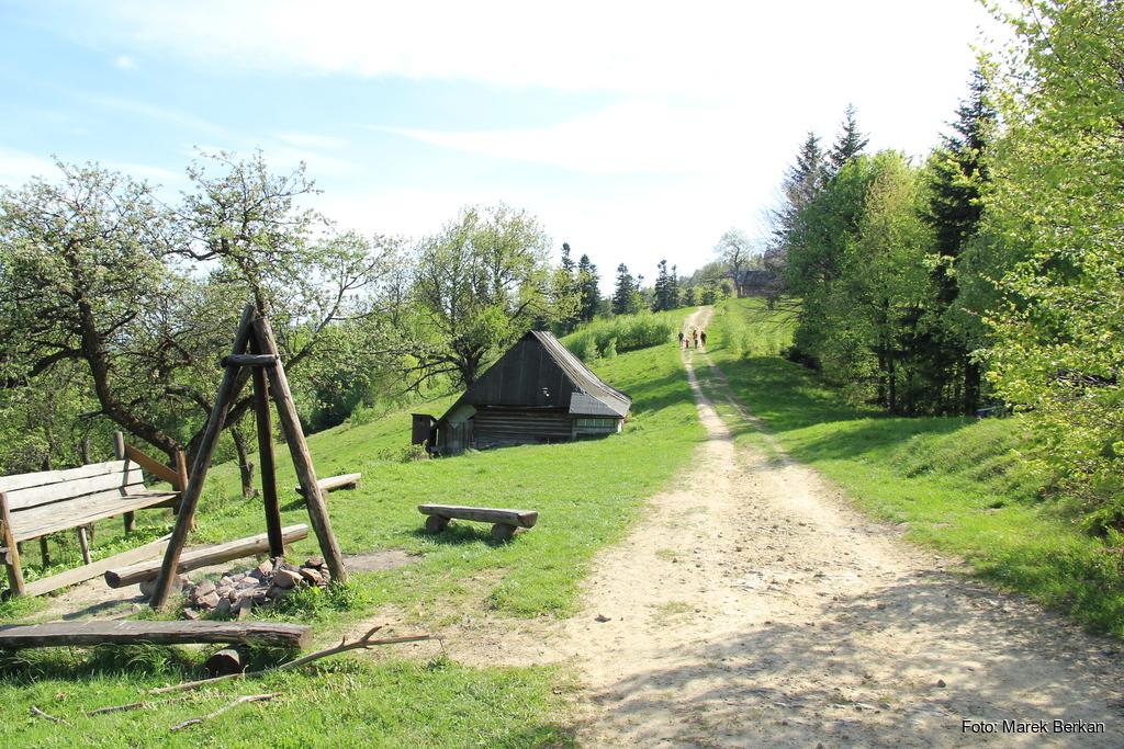 Zabudowania wsi Kordowiec
