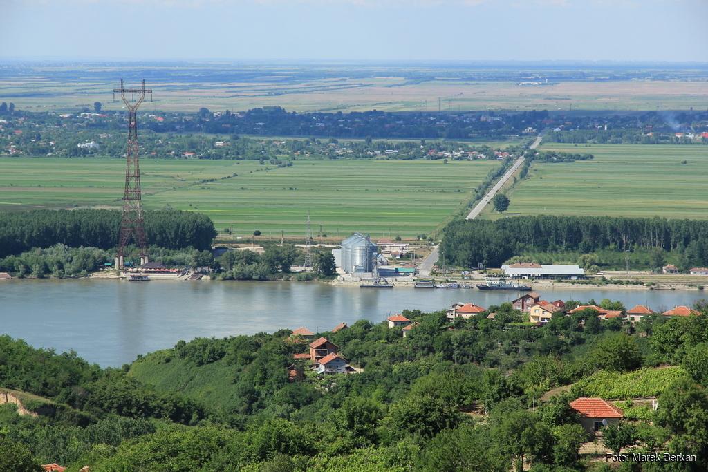 Bechet - widok od strony Bułgarii