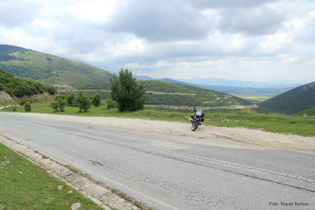 Droga dookoła gór Olimp