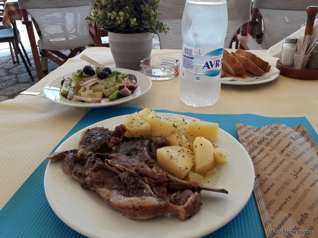 Tradycyjne greckie danie