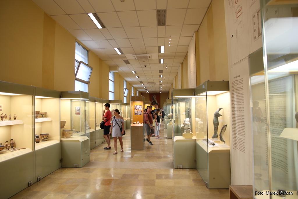 Ateny - jedno z muzeów