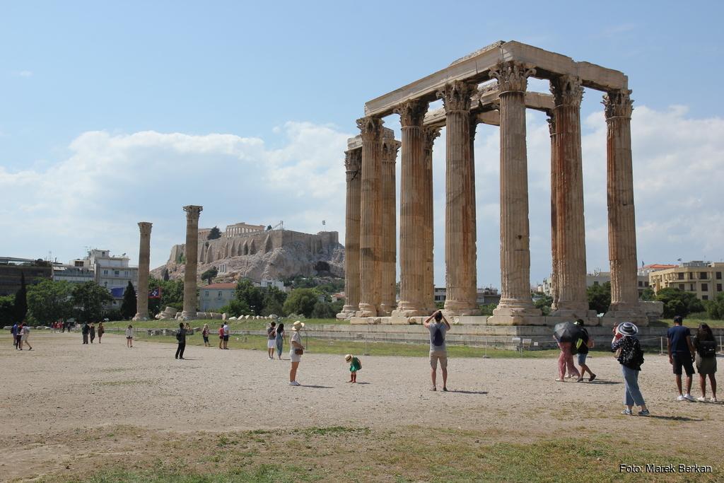 Ateny - widok na Akropol