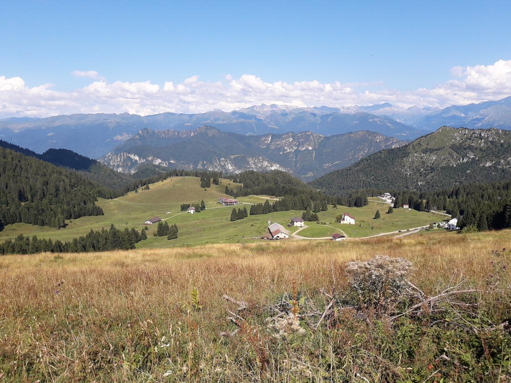Tremalzo - widok z przełęczy