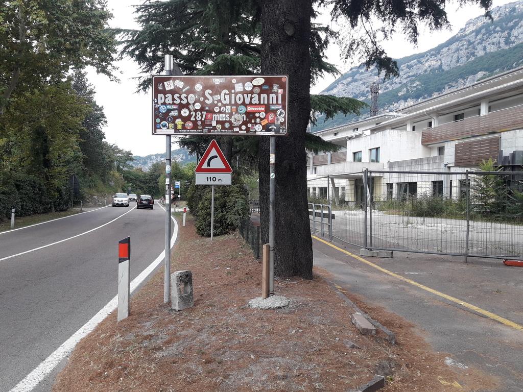 Ostatnia przełęcz przed zjazdem do Torbole