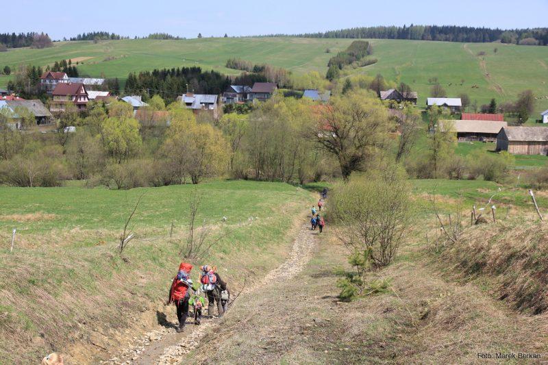 Beskid Niski - Główny Szlak Beskidzki (czerwony)