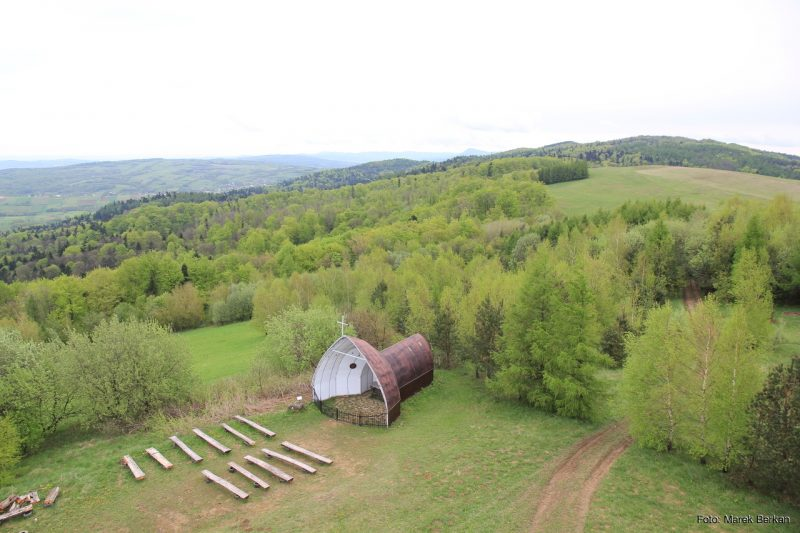 Beskid Niski - Góra Grzywacka (przy zielonym szlaku)